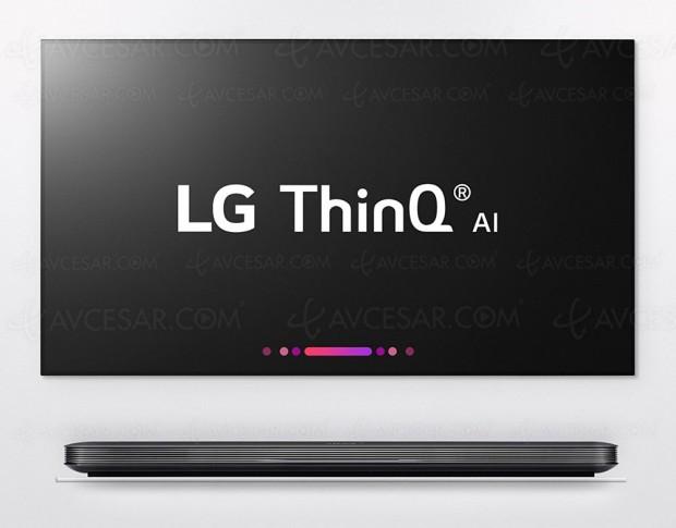 CES 18 > Smart TV LG ThinQ AI, WebOS avec Google Assistant intégré