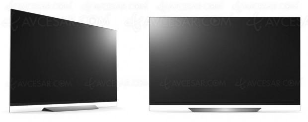 CES 18 > TV Oled LG C8, B8, E8, G8 et W8, récapitulatif des spécifications clés