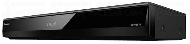 CES 18 > Panasonic DP‑UB820, platine Ultra HD Blu‑Ray HDR Dolby Vision et HDR10+