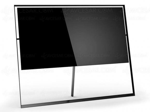 CES 18 > TV QLED 8K 85'' Samsung QE85Q9S, le design du téléviseur