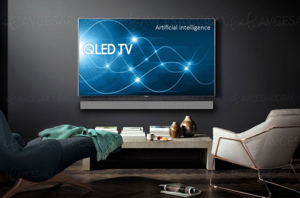 CES 18 > TV QLED Ultra HD Samsung Q9 2018 avec Full LED Local Dimming, remplaçant de la série Q9F 2017