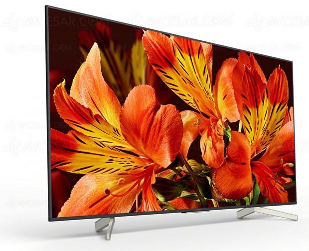 CES 18 > TV LED Ultra HD Sony XF8505, six modèles en approche, de 43'' jusqu'à 85''