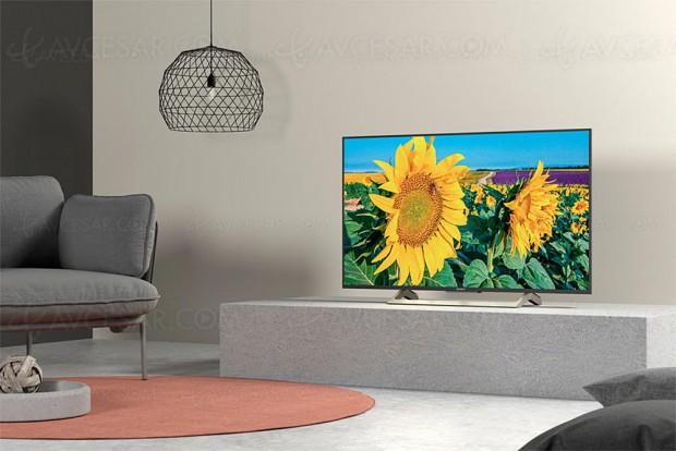 CES 18 > TV LED Ultra HD Sony XF8005, 43'', 49' et 55'' annoncés