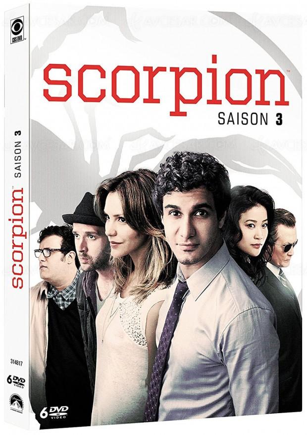 scorpions saison 3 la s rie des petits g nies. Black Bedroom Furniture Sets. Home Design Ideas