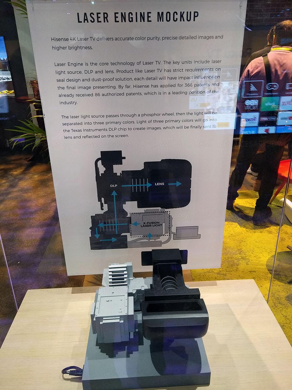 Videoprojecteur Avec Tuner Tv ces 18 > laser tv ultra hd hisense, vidéoprojecteur ultra
