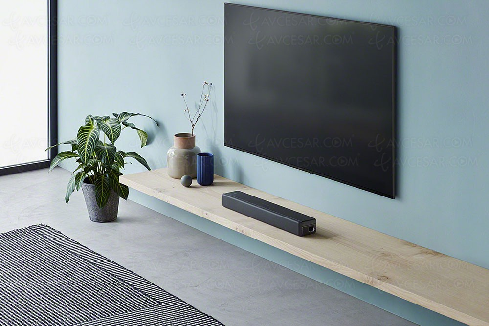 ces 18 sony ht sf200 barre de son 2 1 compacte. Black Bedroom Furniture Sets. Home Design Ideas