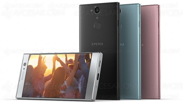 CES 18 > Nouveaux smartphones milieu de gamme Sony Xperia XA2, Xperia XA2 Ultra et Xperia L2