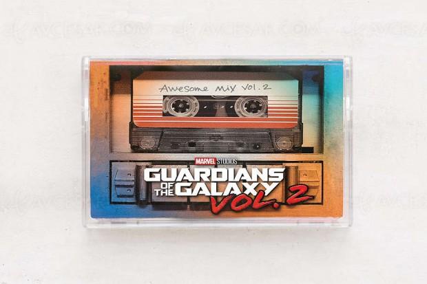 Résurrection de la cassette audio grâce aux… Gardiens de la galaxie