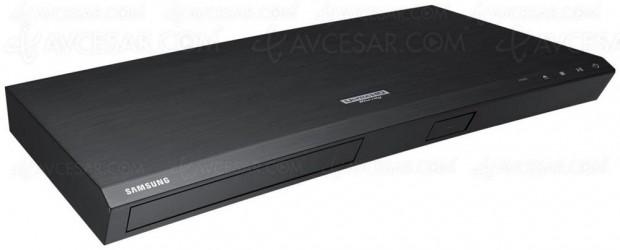 Soldes hiver 2018 Fnac, platine 4K Ultra HD Blu‑Ray Samsung UBD‑M8500 à -43%, soit 150 € d'économie