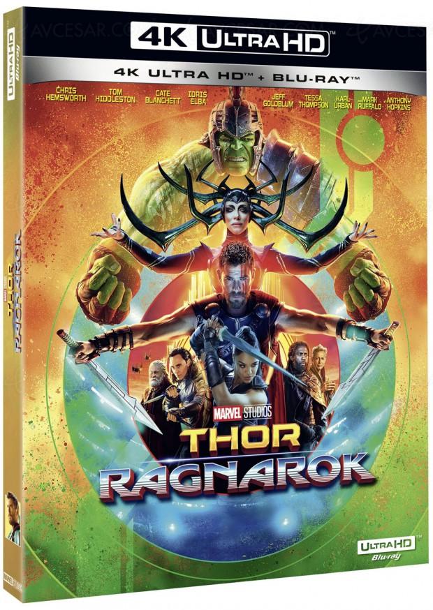 Le mystère Thor Ragnarok en 4K Ultra HD Blu‑Ray… enfin résolu !