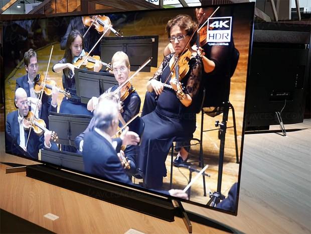CES 18 > Sony X-Motion Clarity, traitement vidéo exclusif à la nouvelle série TV Ultra HD Sony XF9005