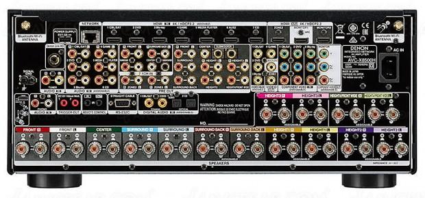 CES 18 > Denon AVC-X8500H, 13.2, HDMI 2.1, compatible 8K et 10K… Mise à jour photos