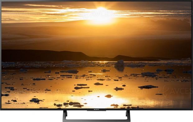 Soldes hiver 2018 Darty, TV LCD LED Ultra HD Sony KD‑49XE7077 à -35%, soit 350 € d'économie