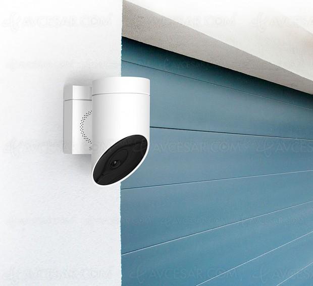 CES 18 > Caméra de surveillance primée au CES Somfy Outdoor Camera