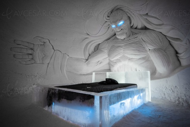Hôtel Game of Thrones tout en neige et en glace