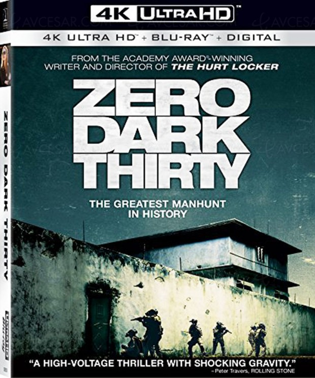 Le grand Zero Dark Thirty disponible en 4K Ultra HD Blu-Ray (aux US)