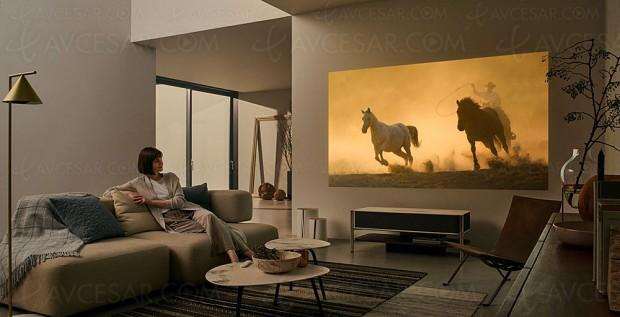 CES 18 > Sony LSPX-A1, nouveau vidéoprojecteur 4K ultracourte focale