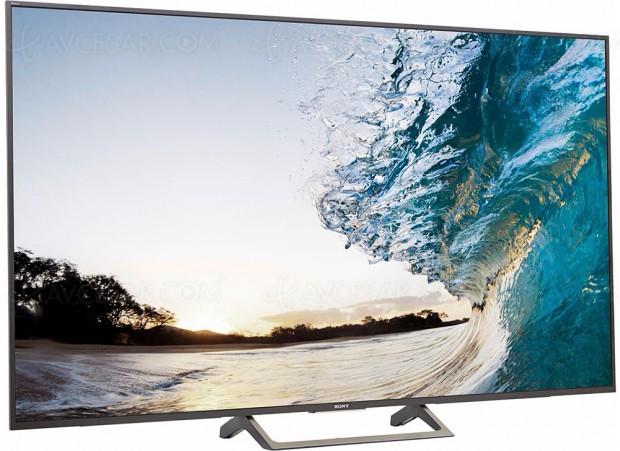 Soldes hiver 2018 Fnac, TV LCD LED Ultra HD Sony KD‑65XE7096 à -26%, soit 450 € d'économie