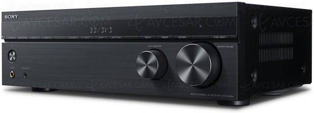 CES 18 > CES 18 > Sony STR‑DH590, amplificateur audio‑vidéo 5.2 Dolby Atmos et DTS:X, HDR10 et HDR Dolby Vision