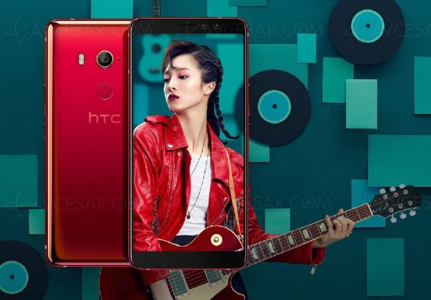 Nouveau smartphone HTC U11 EYEs, spécial selfie