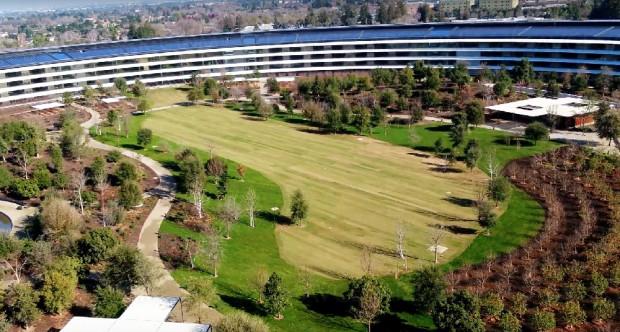 Apple Park, premier survol de l'année (vidéo)