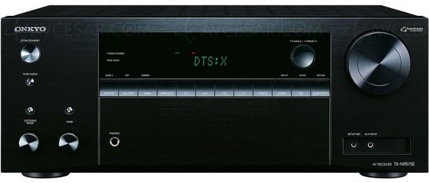 Soldes hiver 2018 Darty, amplificateur Home Cinéma Onkyo TX‑NR575 à -33%, soit 200 € d'économie