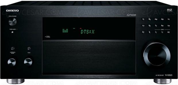 Soldes hiver 2018 Darty, amplificateur Home Cinéma Onkyo TX‑RZ820 à -32%, soit 391 € d'économie