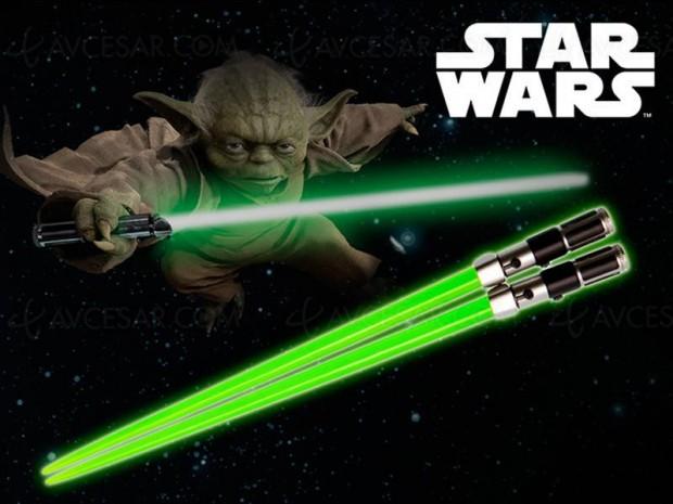 On veut les baguettes ultimes Star Wars Yoda