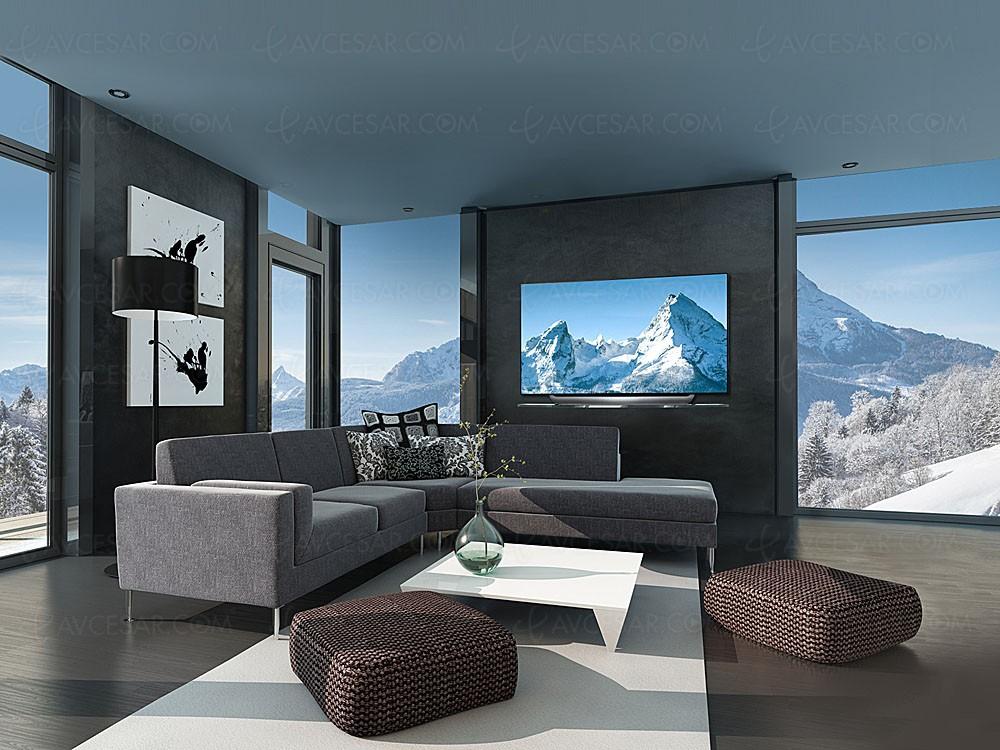 ces 18 tv oled ultra hd lg c8 mise jour photos. Black Bedroom Furniture Sets. Home Design Ideas