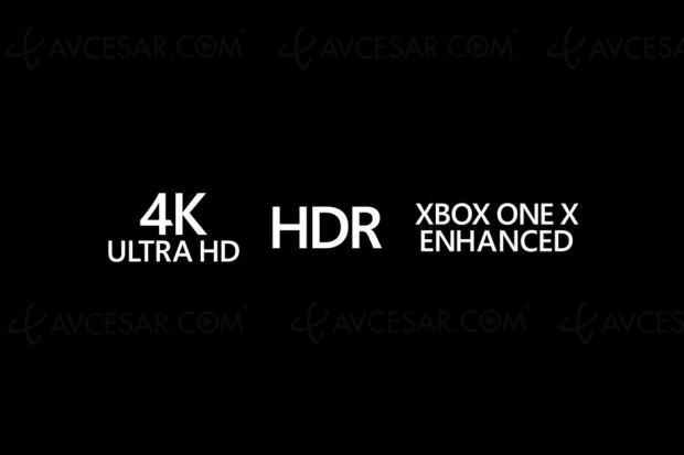 Plus de 100 jeux optimisés Ultra HD/4K HDR sur Xbox One X