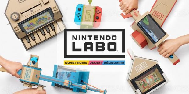Nintendo Labo, accessoires étonnants pour la Switch