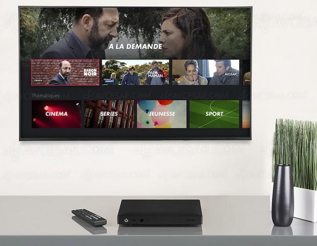 Nouveau Décodeur Canal+ Ultra HD/4K/Dolby Atmos satellite/OTT, récapitulatif spécifications et fonctionnalités