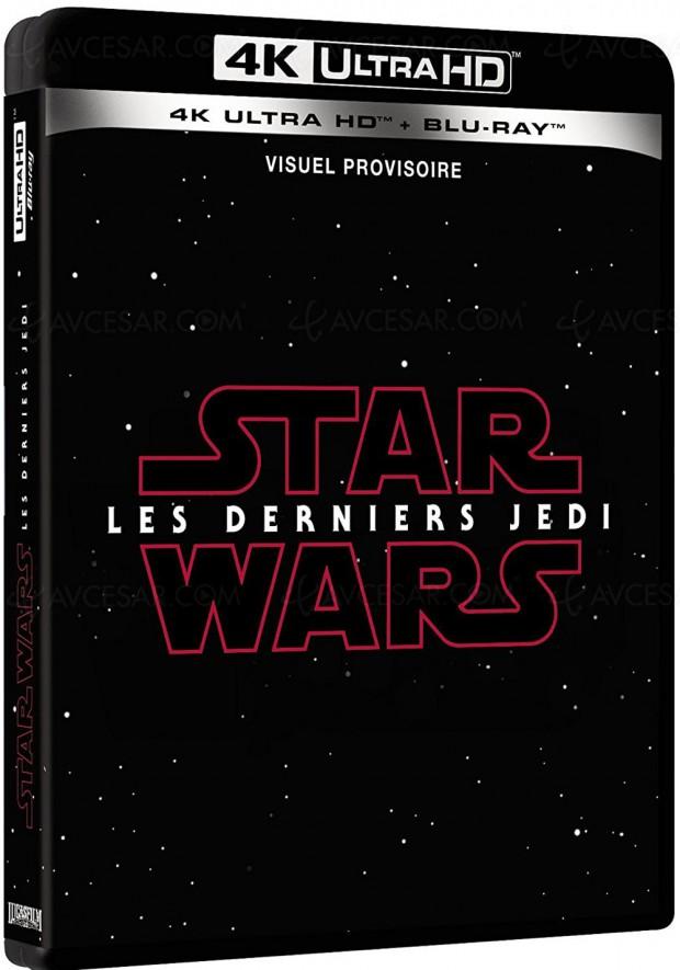 L'édition française 4K Ultra HD Blu-Ray de Star Wars : les derniers Jedi ressemblera-t-elle à cela ?