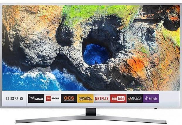 Soldes hiver 2018 CDiscount, TV LED Ultra HD Samsung UE49KU6450 à -38,5%, soit 374 € d'économie