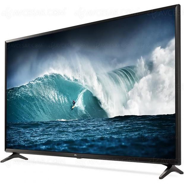 Soldes hiver 2018 CDiscount, sélection TV LED Ultra HD jusqu'à -44,5%, soit 799 € d'économie