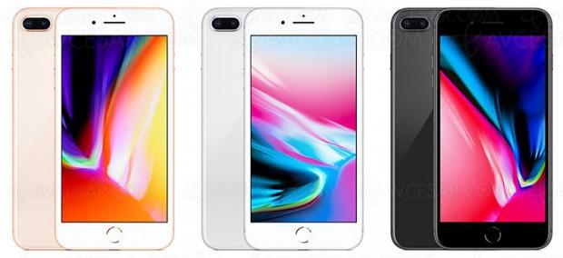 Test iPhone 8 Plus, en ligne