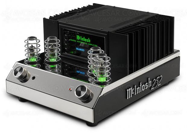 McIntosh MA252, amplificateur stéréo Hi‑Fi hybride