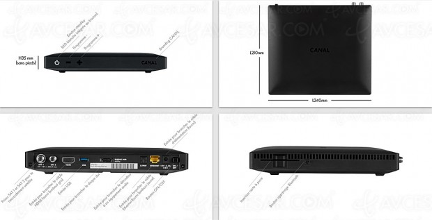 Nouveau Décodeur satellite/OTT Canal+ 4K et Dolby Atmos, mise à jour infrarouge