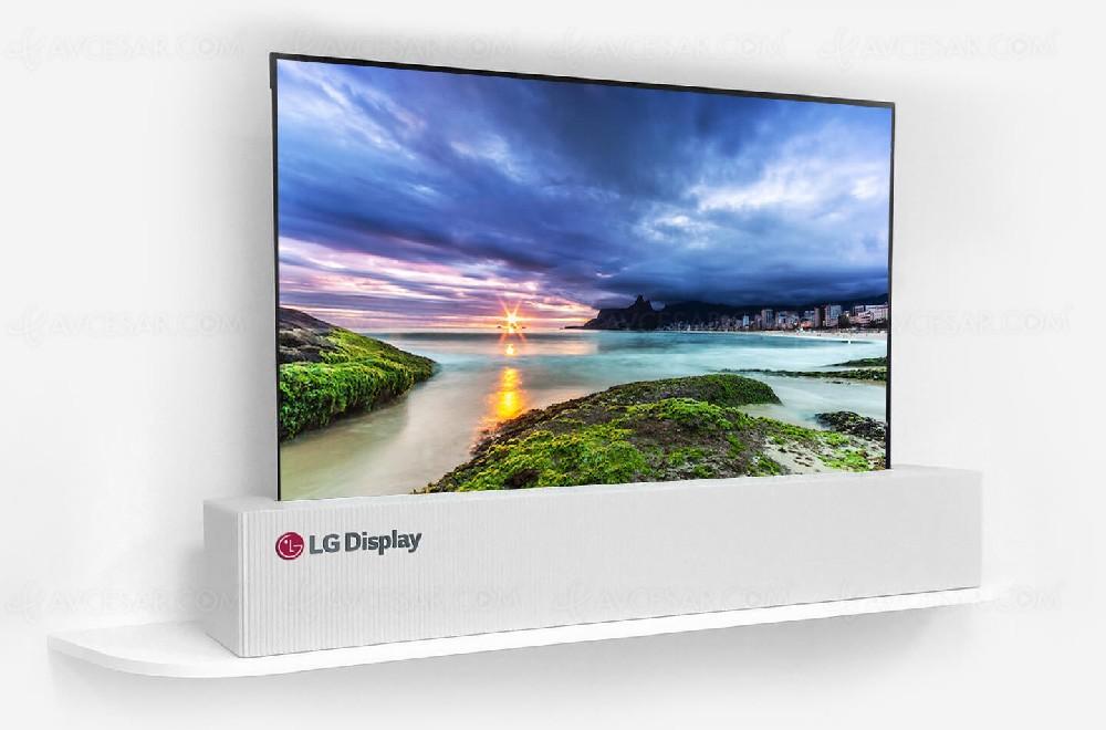 la tv oled enroulable par lg display devrait s appeler roled. Black Bedroom Furniture Sets. Home Design Ideas