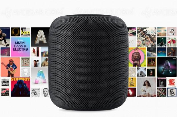 Enceinte connectée Apple HomePod, mise à jour disponibilité