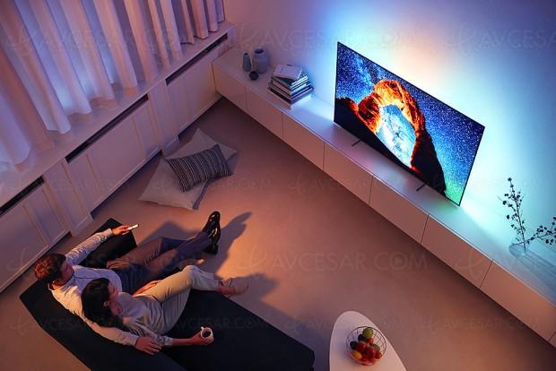 Philips OLED803, Philips OLED873 et Philips OLED973, 5 TV Oled en 2018