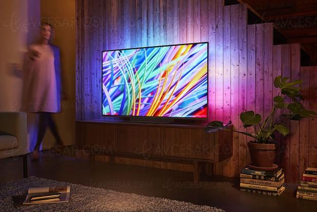 HDR10+ annoncé pour les TV Philips OLED803, Philips OLED873, Philips OLED973 et TV LCD Philips PUS8000