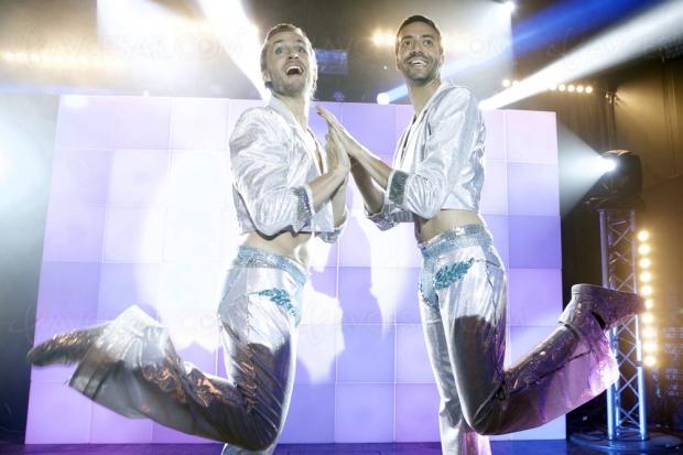 Épouse-moi mon pote, Tarek Boudali et Philippe Lacheau en gay lurons
