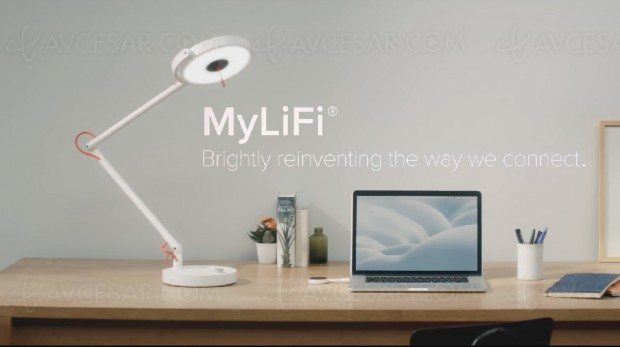 Deux produits français Li‑Fi, le Wi‑Fi par la lumière