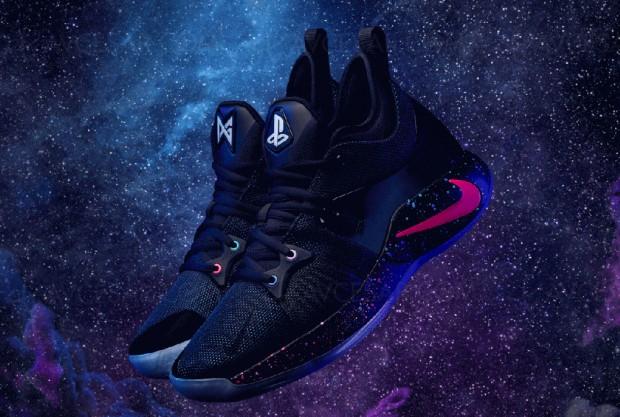 Baskets Nike PG2 aux couleurs de la PlayStation