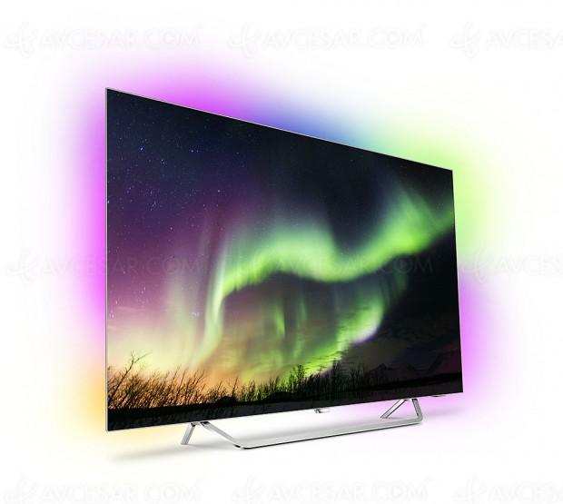 TV Oled Philips OLED873 Ultra HD Premium, unique 65'' au programme