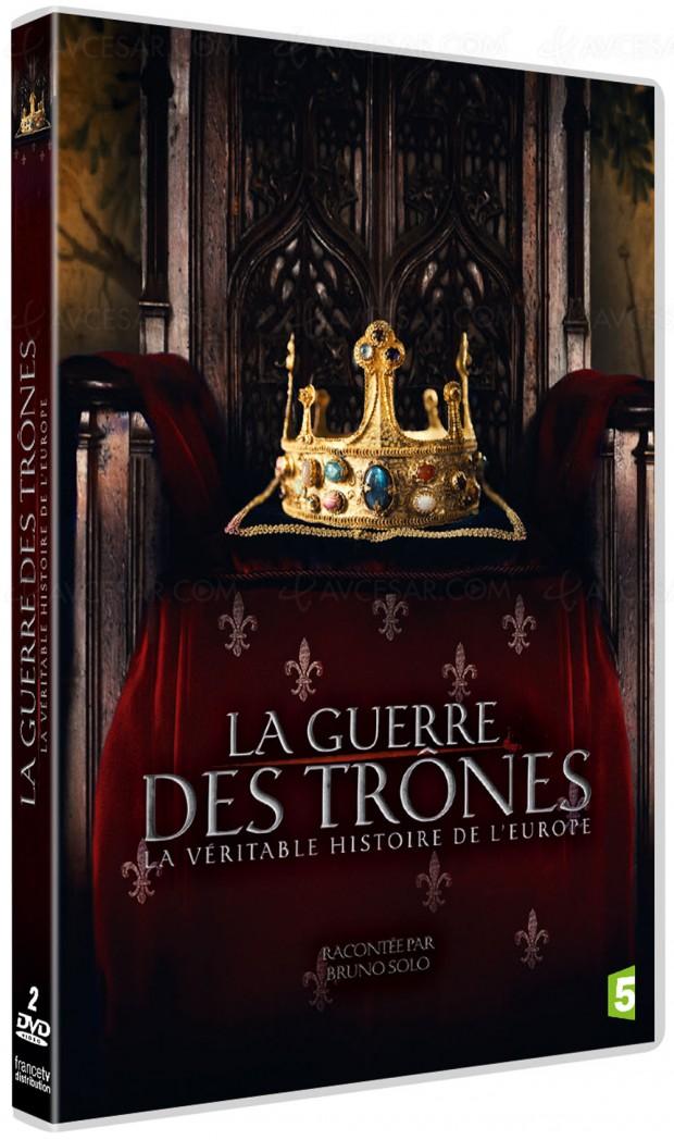 La guerre des trônes, la véritable histoire de l'Europe, Bruno Solo conteur d'Histoire