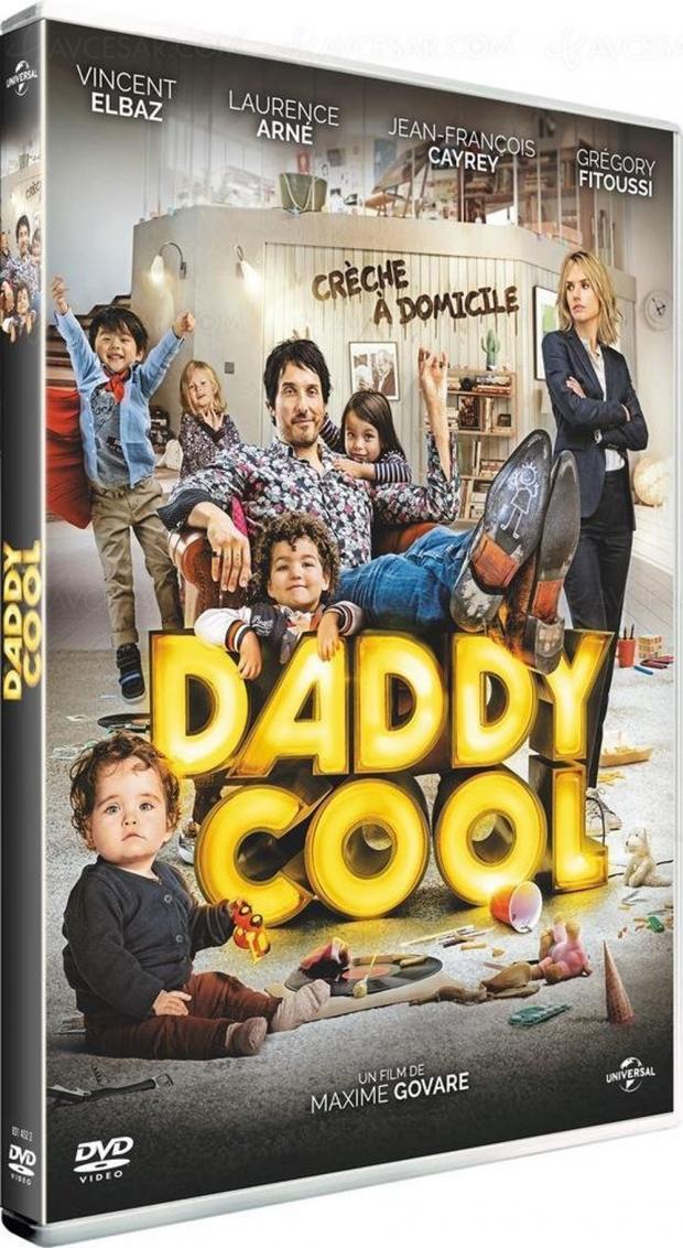 Vincent Elbaz pouponne dans Daddy Cool