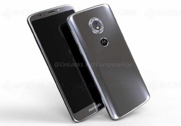Vidéo 3D en fuite pour le smartphone Moto G6 Play