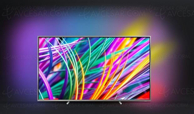 TV LED Ultra HD Philips 75PUS8303, mise à jour photo